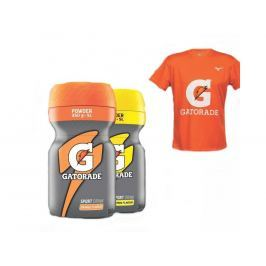 Gatorade Orange a Lemon Powder + Triko Mizuno
