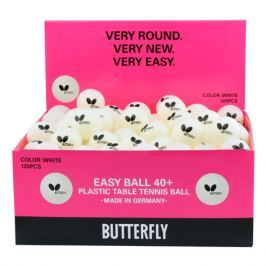 Míčky Butterfly Easy Ball 40+ (120 ks)