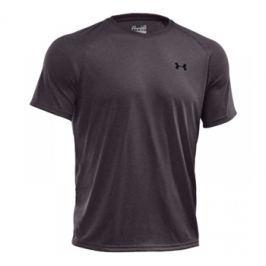 Pánské tričko Under Armour Tech SS Tee Carbon Grey