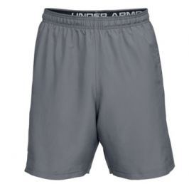 Pánské šortky Under Armour  Woven Graphic Wordmark Zinc Gray/Black