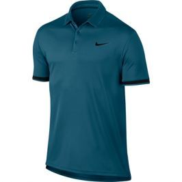 Pánské tričko Nike Court Dry Green Abyss