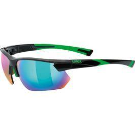 Cyklistické brýle Uvex Sportstyle 221 černo-zelené