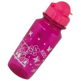 Dětská láhev Force Bear 0.5L školní fialová