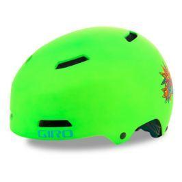 Dětská cyklistická helma GIRO Dime FS matná limetková
