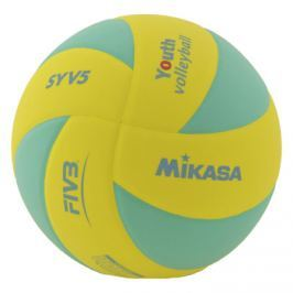 Volejbalový míč Mikasa SYV5 Yellow/Green