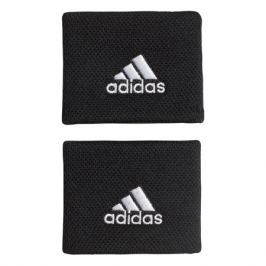 Potítka adidas Tennis Wristband Small Black/White (2 ks)
