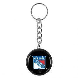 Přívěsek na klíče SHER-WOOD puk NHL New York Rangers