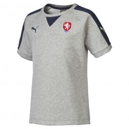 Pánské tričko Puma Česká republika Casuals Grey 74875911