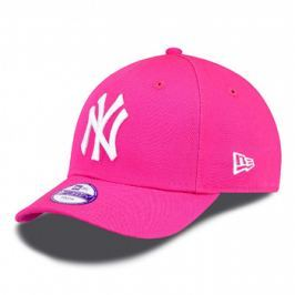 Dětská kšiltovka New Era Basic 9Forty MLB New York Yankees Pink/White