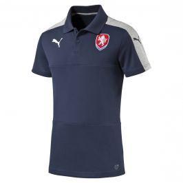 Pánská polokošile Puma Česká republika Casuals Dark Denim EURO 2016