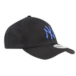 Kšiltovka New Era Black Base 39Thirty New York Yankees Black Blue
