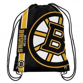 Vak Forever Collectibles Cropped Logo Drawstring NHL Boston Bruins