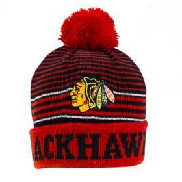 Dětská zimní čepice Old Time Hockey Jayce NHL Chicago Blackhawks