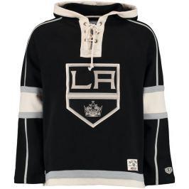 Pánská mikina s kapucí Old Time Hockey Lacer Fleece NHL Los Angeles Kings