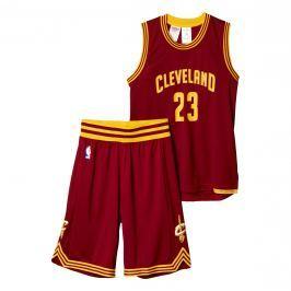 Dětský dres a šortky adidas NBA Cleveland Cavaliers LeBron James 23
