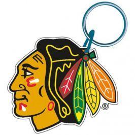 Akrylová klíčenka premium NHL Chicago Blackhawks