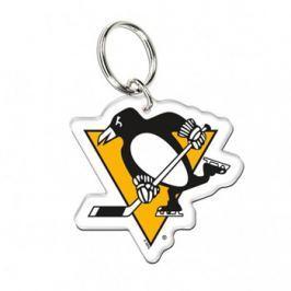 Akrylová klíčenka premium NHL Pittsburgh Penguins
