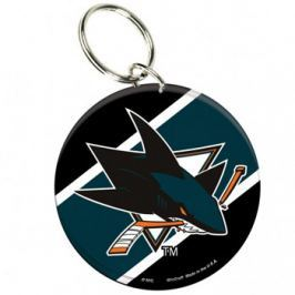 Akrylová klíčenka premium NHL San Jose Sharks