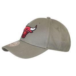 Kšiltovka Mitchell & Ness Low Pro NBA Chicago Bulls olivová