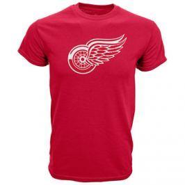 Dětské tričko Levelwear Core Logo NHL Detroit Red Wings červené