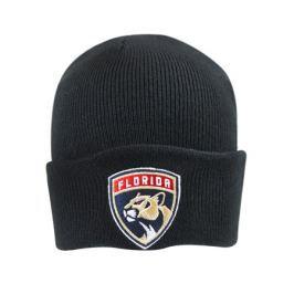 Zimní čepice Mitchell & Ness Logo Cuff Knit NHL Florida Panthers