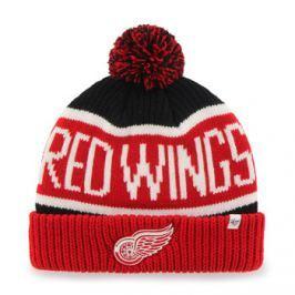 Zimní čepice 47 Brand Calgary Cuff Knit NHL Detroit Red Wings