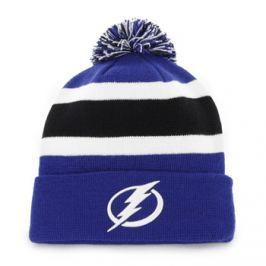 Zimní čepice 47 Brand Breakaway Cuff Knit NHL Tampa Bay Lightning