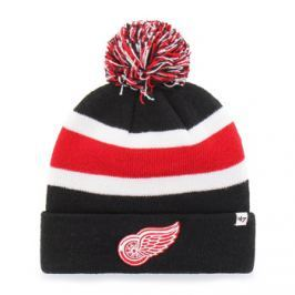 Zimní čepice 47 Brand Breakaway Cuff Knit NHL Detroit Red Wings