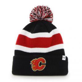 Zimní čepice 47 Brand Breakaway Cuff Knit NHL Calgary Flames