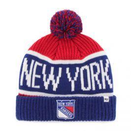 Zimní čepice 47 Brand Calgary Cuff Knit NHL New York Rangers