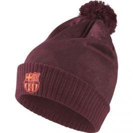 Zimní čepice Nike SSNL FC Barcelona vínová