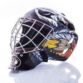 Mini brankářská helma Franklin NHL Anaheim Ducks