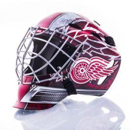 Mini brankářská helma Franklin NHL Detroit Red Wings