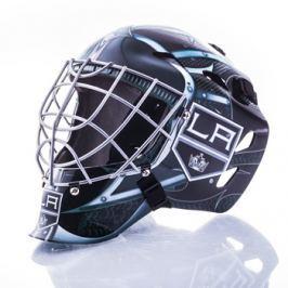 Mini brankářská helma Franklin NHL Los Angeles Kings