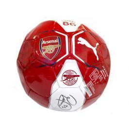 Míč Puma Arsenal FC Fan s originálním podpisem Petra Čecha