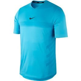 Pánské tričko Nike Court Aeroreact Rafa Lagoon Pulse