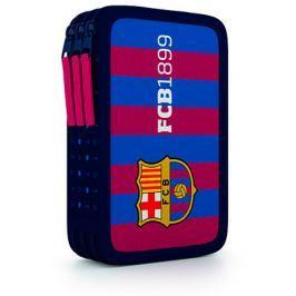 Penál třípatrový FC Barcelona - prázdný