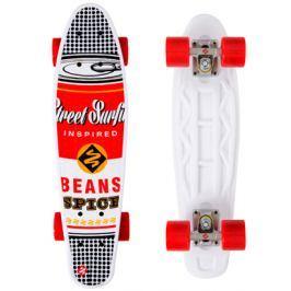 Skateboard Street Surfing Pop Board Super Black Dot