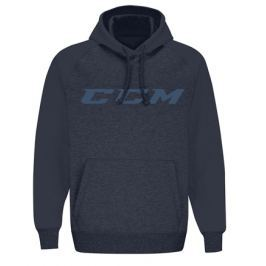 Mikina CCM Pullover Fleece Hood Heather Dark Saphire SR
