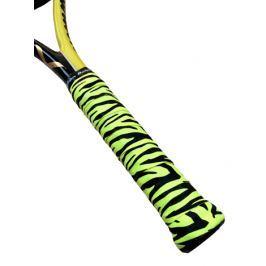 Omotávka na rakety vrchní Alien Pros X-Dry Plus Neon Tiger