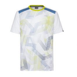 Pánské tričko Head Raquet White/Blue