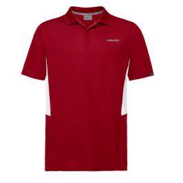 Pánské tričko Head Club Tech Polo Red