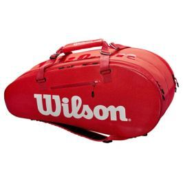 Taška na rakety Wilson Super Tour 2 Compartment Large Red