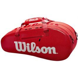 Taška na rakety Wilson Super Tour 2 Compartment Small Red