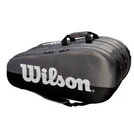 Taška na rakety Wilson Team 3 Compartment Grey