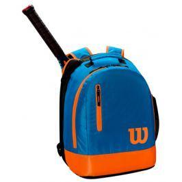 Dětský batoh na rakety Wilson Youth Backpack Blue/Orange