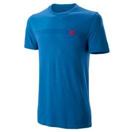 Pánské tričko Wilson Competition Seamless Crew Blue