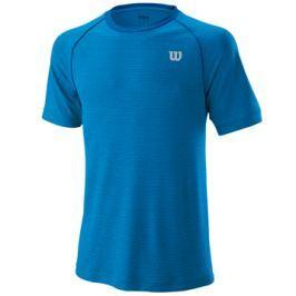 Pánské tričko Wilson Training Crew Blue
