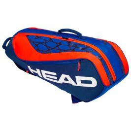 Juniorská taška na rakety Head Junior Combi Rebel Blue/Orange