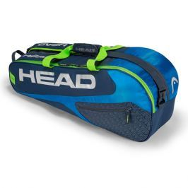 Taška na rakety Head Elite 6R Combi Blue/Green